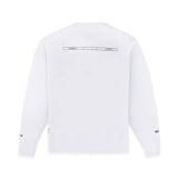 CREW NECK SWEATSHIRT IN WHITE