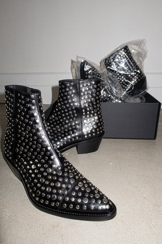 STUDDED VAQUERO BOOT