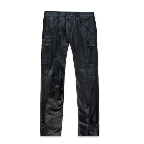 NEUROMANCER LEATHER TROUSER