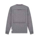 L/S T-SHIRT IN HEATHER GREY