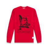 L/S T-SHIRT IN RED