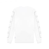 L/S T-SHIRT IN WHITE