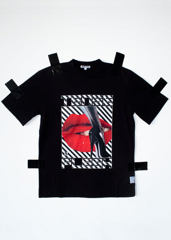 S/S T-SHIRT IN BLACK