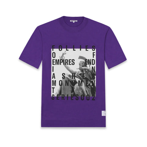 S/S T-SHIRT IN PURPLE