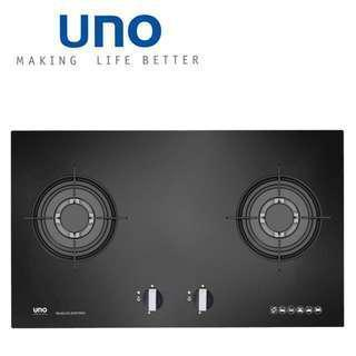 UNO Toughened Glass Built-in Gas Hob UG 2076TRSV
