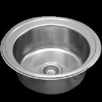 Rubine Kitchen Sink  Royal Well rounded BCX 610 - Lion City Company