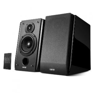 Edifier Bookshelf R1850DB BT 66W Speakers - Matte Black - Lion City Company