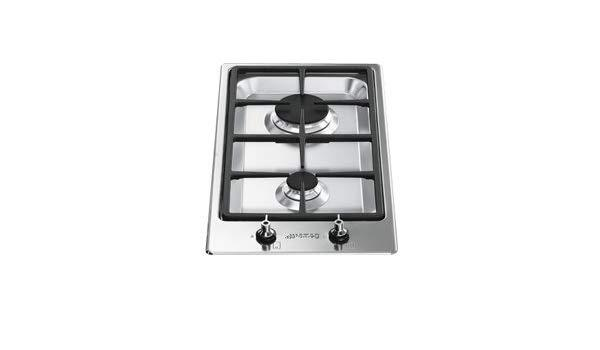 Smeg PDXS30R-1 Built in 2-Burner Domino Gas Hob
