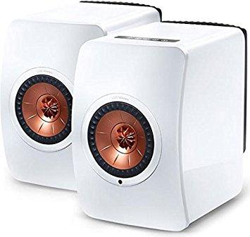 KEF LS50W Wireless Bluetooth Stereo Speaker WHITE SP3903AA/AB