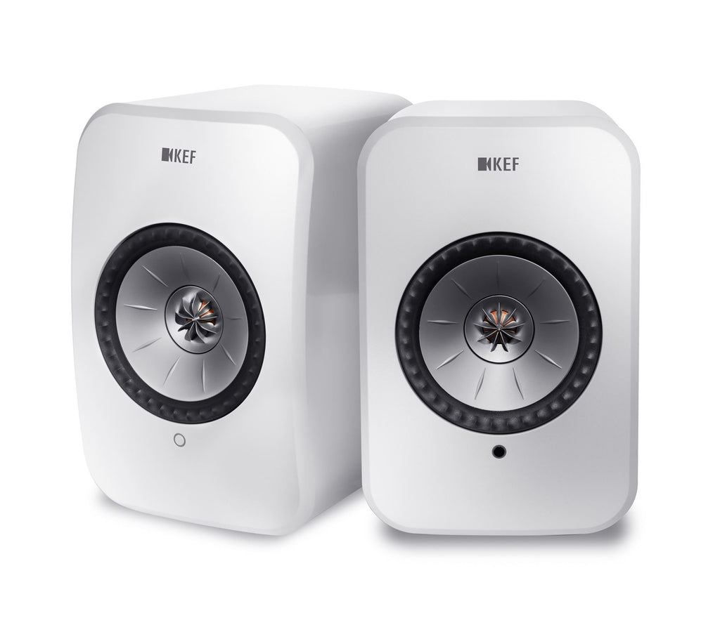 KEF SP3994AX LSX Wireless Mini Monitor, BOOKSHELF Speakers White