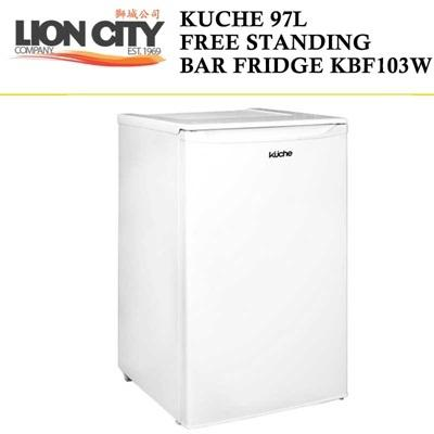 Kuche 97L Free Standing Bar Fridge KBF103Wi - Lion City Company