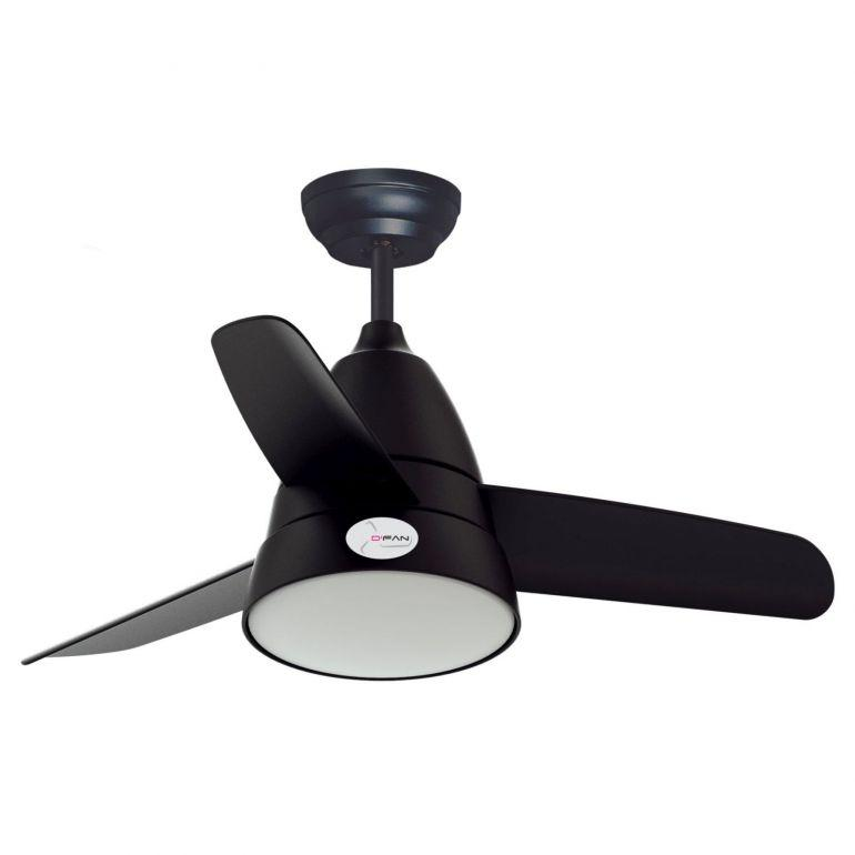 D'Fan 5013BK Ceiling Fan - 36'' - Lion City Company