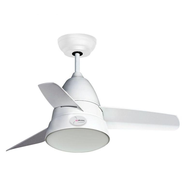 "D'Fan 5013WH Ceiling Fan - 36"" - Lion City Company"