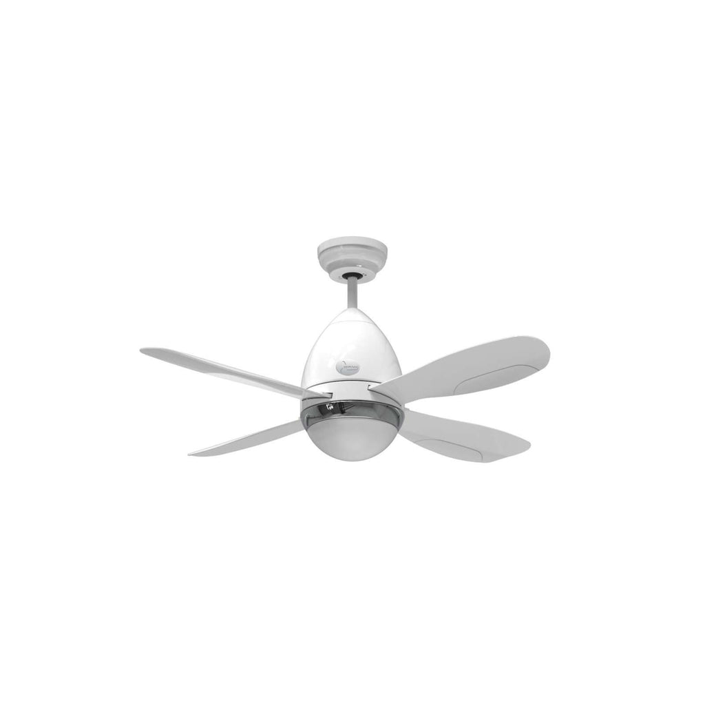 "D'Fan 507WH Ceiling Fan 42"" - Lion City Company"
