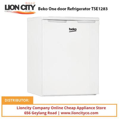 Beko TSE1283 One door Refrigerator - Lion City Company