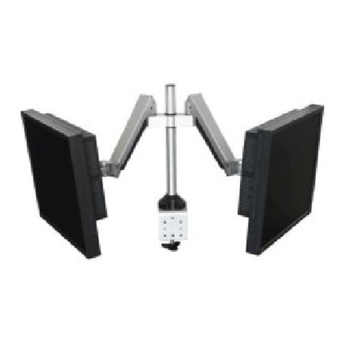 Tough Gas Spring Dual Side-by-Side LCD Monitor Arm 68S230