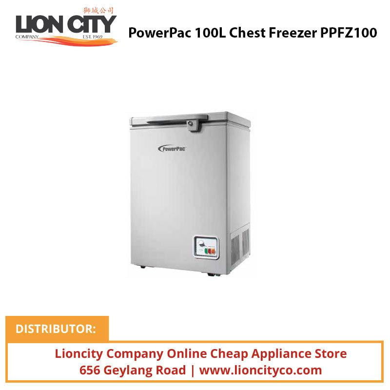 PowerPac PPFZ100 100L Chest Freezer - Lion City Company
