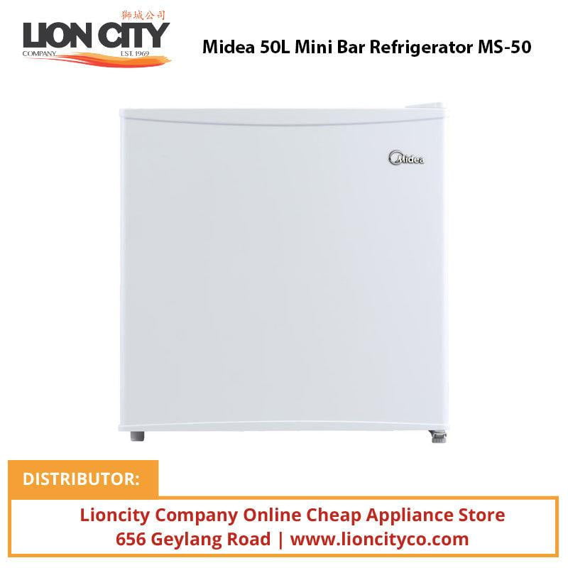 Midea MS50 50L Mini Bar Refrigerator - Lion City Company