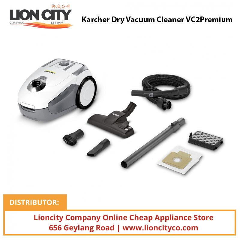 Karcher Dry Vacuum Cleaner VC 2 Premium - Lion City Company