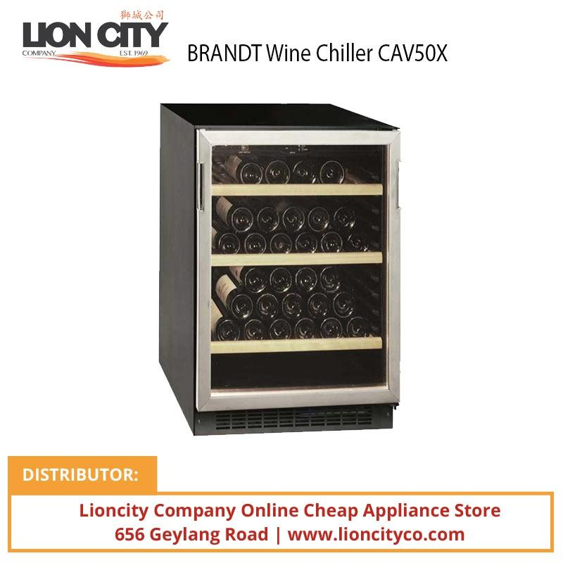 BRANDT Wine Chiller CAV50X - Lion City Company