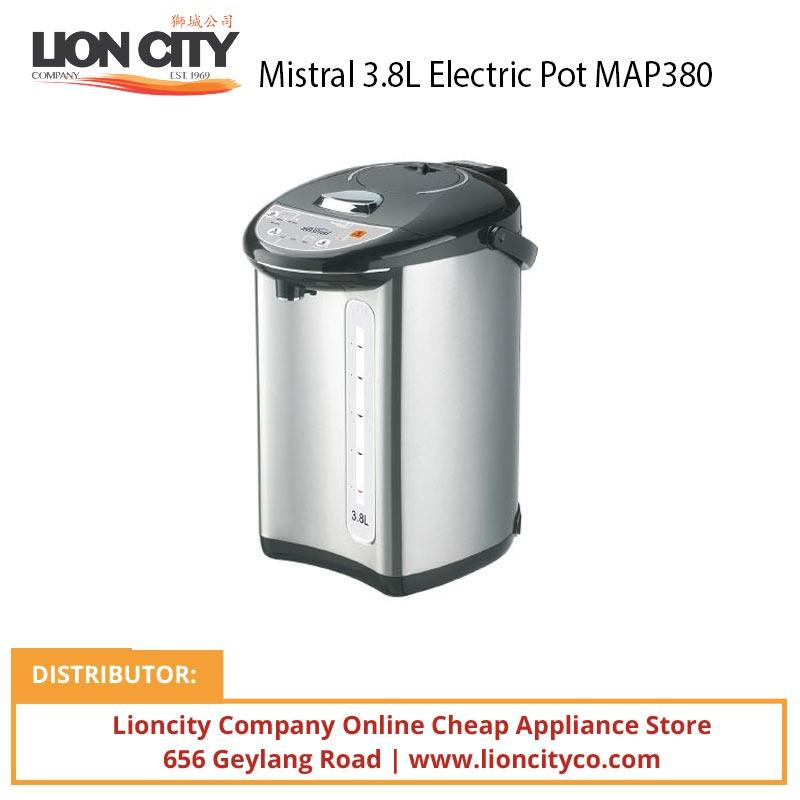 Mistral MAP380 3.8L Electric Pot - Lion City Company