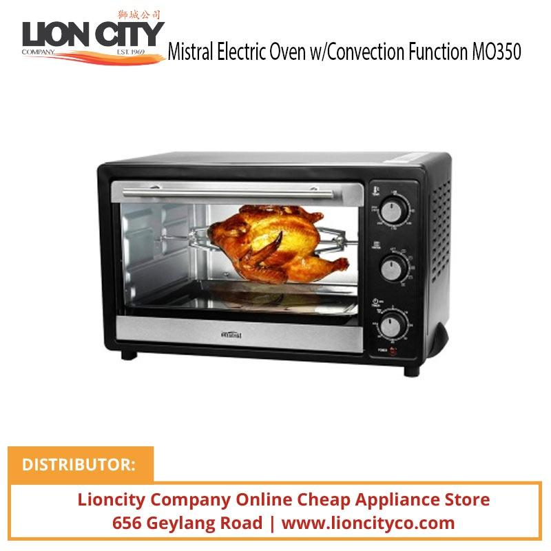 Mistral MO350 35L Electric Oven with Convection Function - Lion City Company