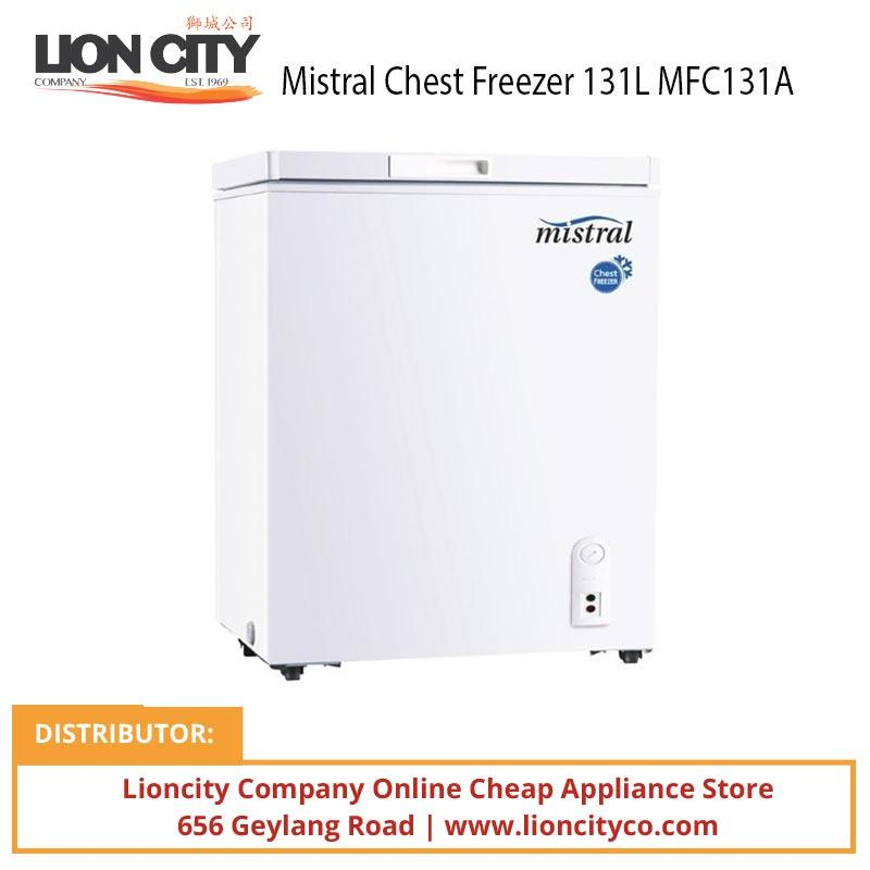 Mistral MFC131A Chest Freezer W/lock 131L - Lion City Company