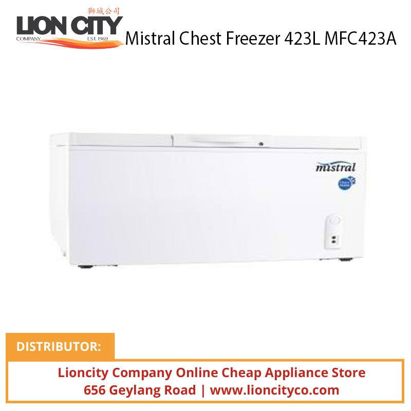 Mistral MFC423A 423L Chest Freezer - Lion City Company