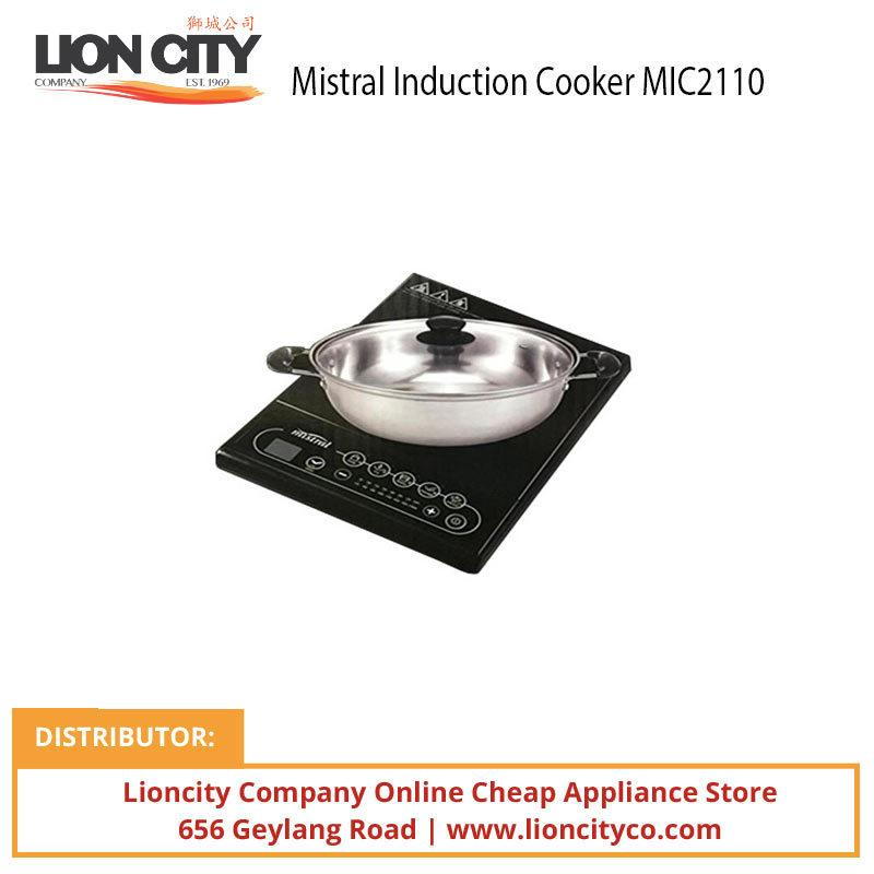 Mistral MIC2110 Induction Cooker - Black - Lion City Company