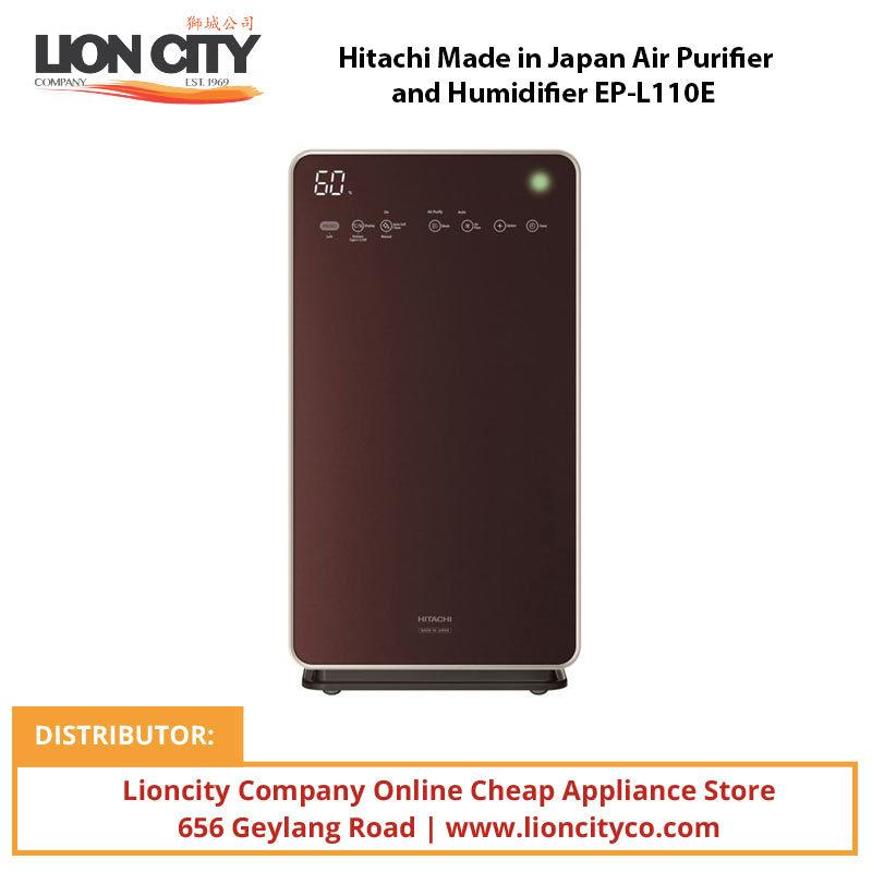 Hitachi Made in Japan Air Purifier and Humidifier EPL110E - Lion City Company