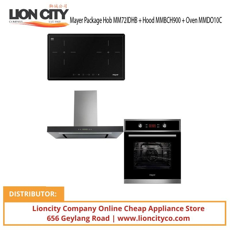 Mayer Package Hob MM72IDHB + Hood MMBCH900 + Oven MMDO10C - Lion City Company