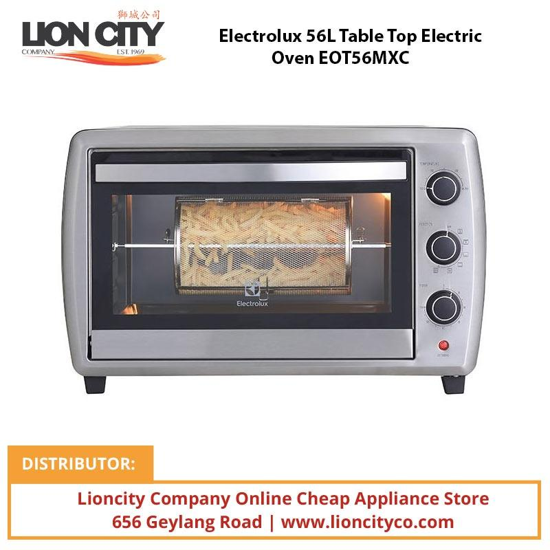 Electrolux EOT56MXC 56L Table Top Electric Oven - Lion City Company