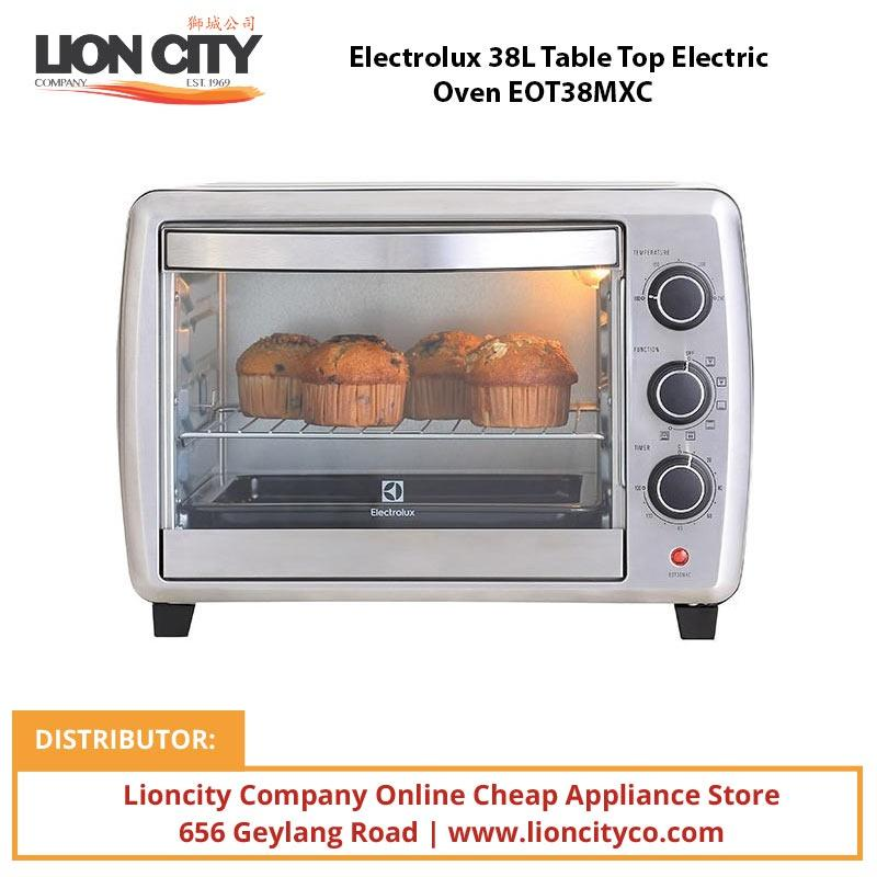 Electrolux EOT38MXC 38L Table Top Electric Oven - Lion City Company