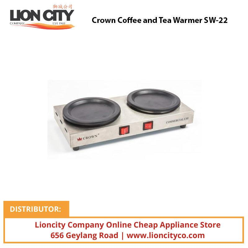 Crown Coffee and Tea Warmer SW22 - Lion City Company