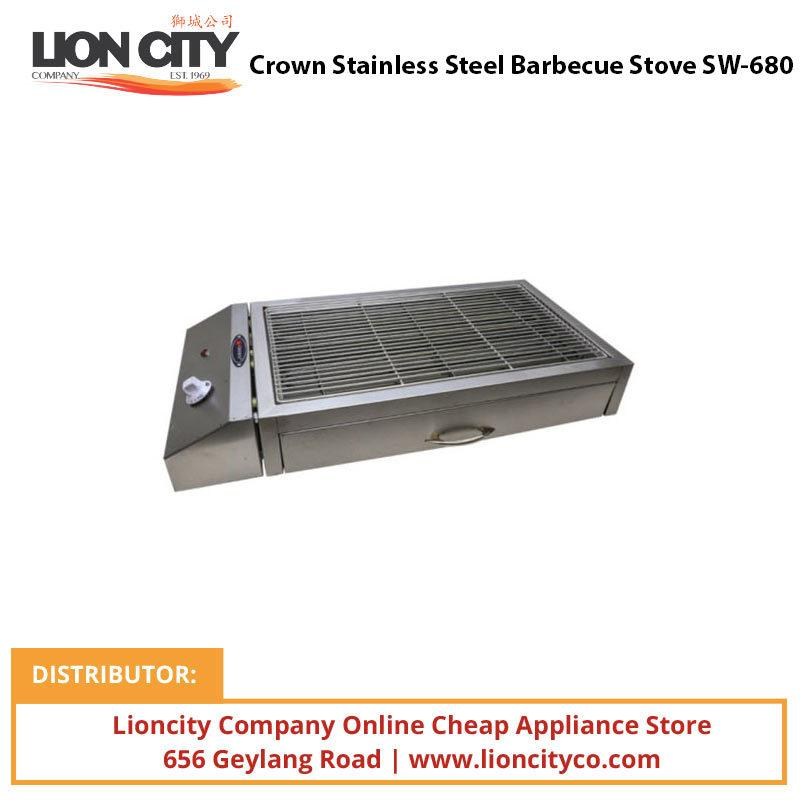 Crown Stainless Steel Barbecue Stove SW680 - Lion City Company