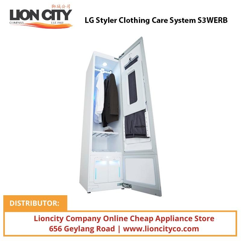 LG Styler Clothing Care System S3WERB - Lion City Company
