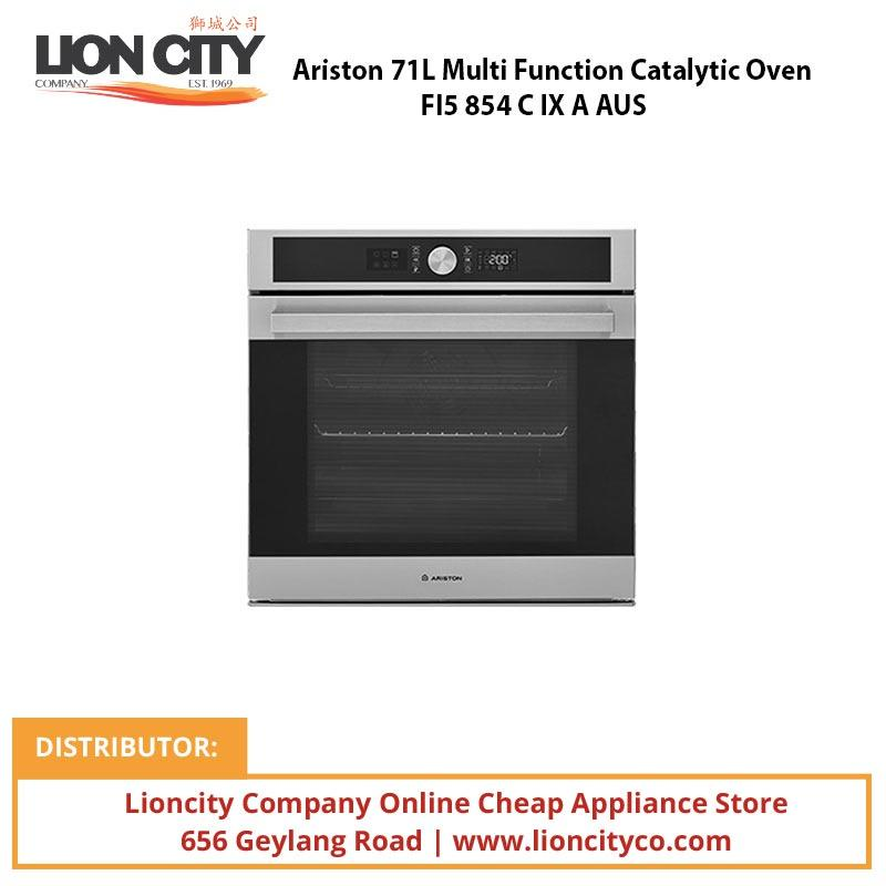 Ariston 71L Multi Function Catalytic Oven FI5854CIXAAUS - Lion City Company