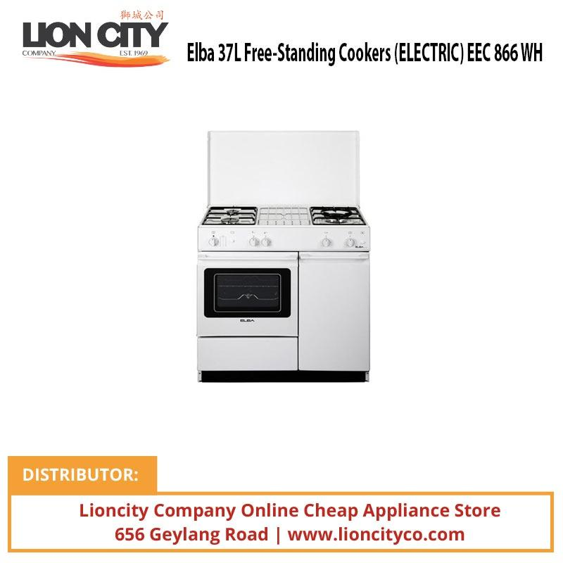 Elba 37L Free-Standing Cookers (ELECTRIC) EEC866WH - Lion City Company