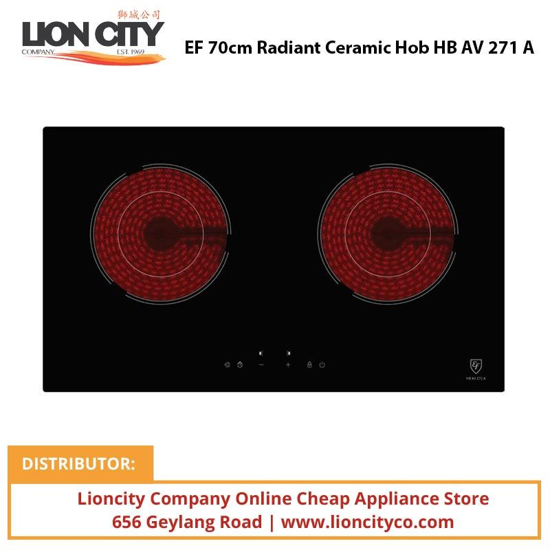 EF 70cm Radiant Ceramic Hob HBAV271A - Lion City Company