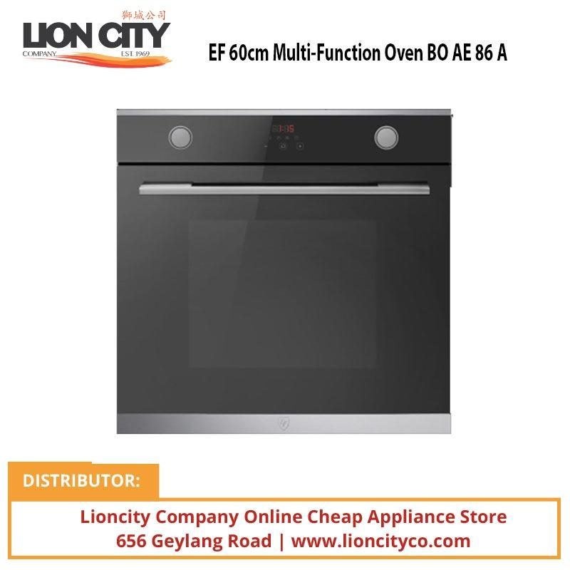 EF 60cm Multi-Function Oven BO AE 86 A