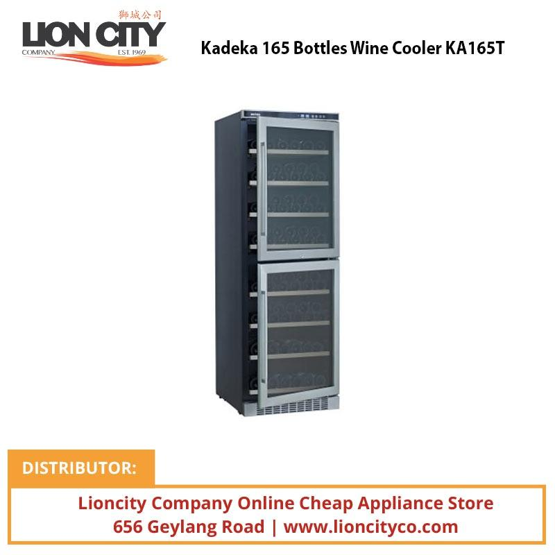 Kadeka 165 Bottles Wine Cooler KA165T - Lion City Company
