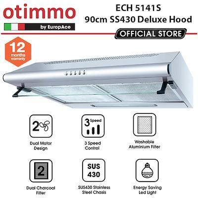 Europace ECH5141S 90cm Deluxe Hood - Lion City Company