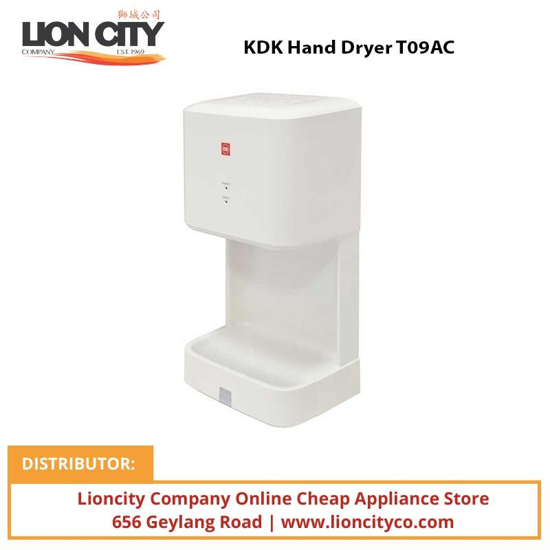 KDK Hand Dryer T09AC - Lion City Company