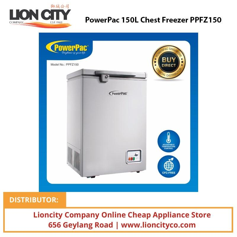 PowerPac PPFZ150 150L Chest Freezer - Lion City Company