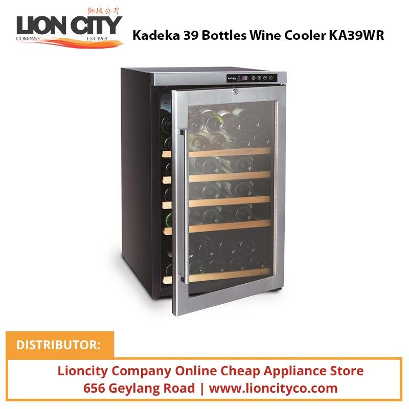 Kadeka 39 Bottles Wine Cooler KA39WR - Lion City Company