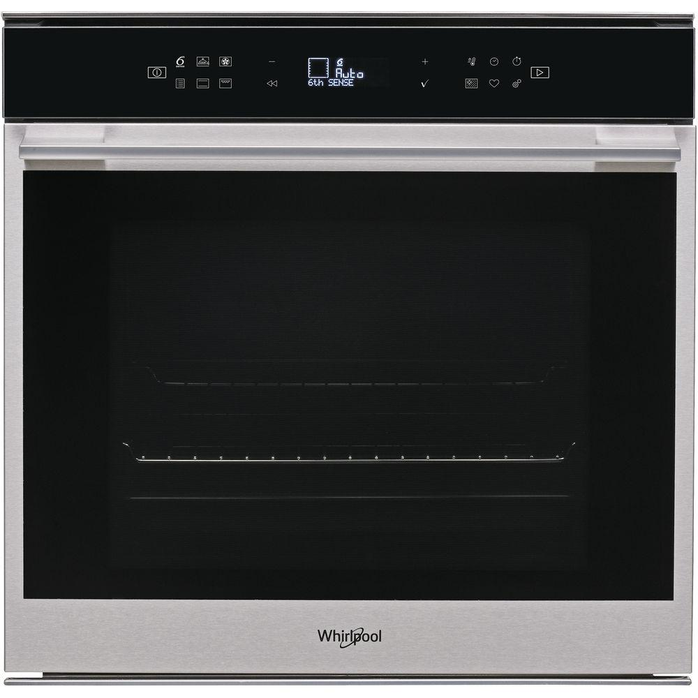 Whirlpool W7 OM4 4S1 P built-in electric oven Stainless Steel, self cleaning