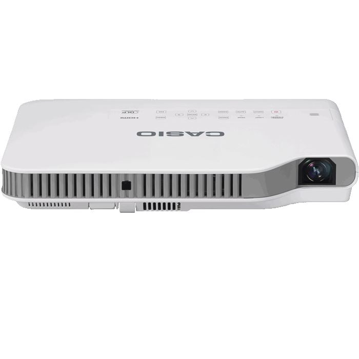 Casio Green Slim LampFree Projector XJA142 - Lion City Company