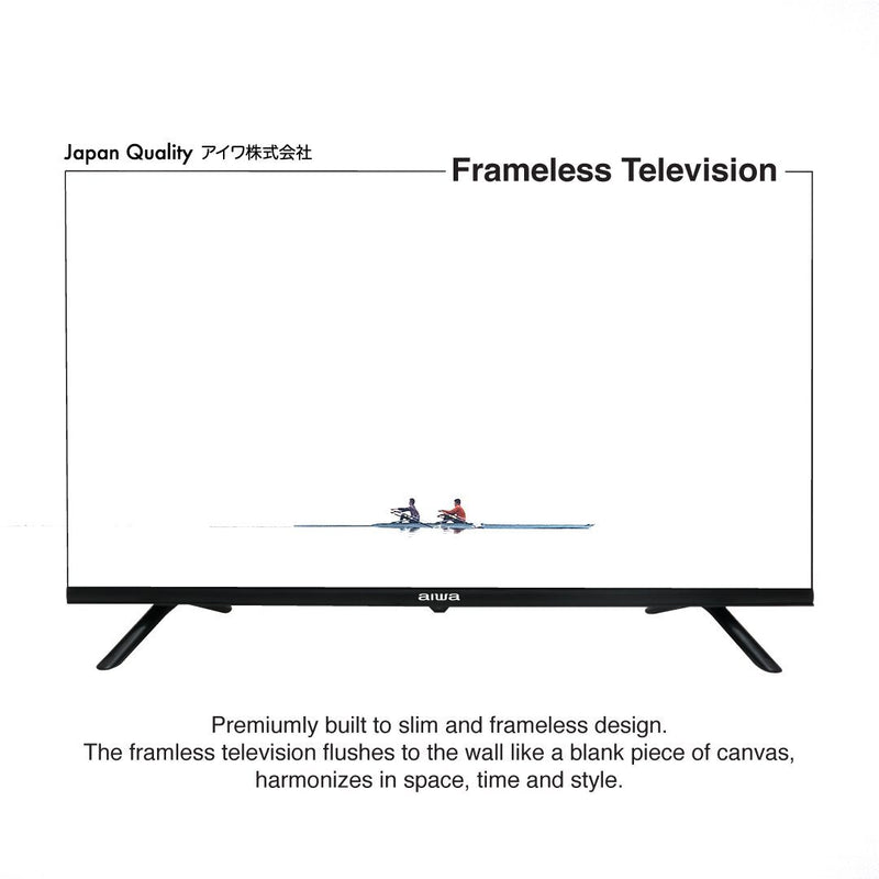 "Aiwa AW-LED40X6FL 40"" LED FHD Frameless TV"