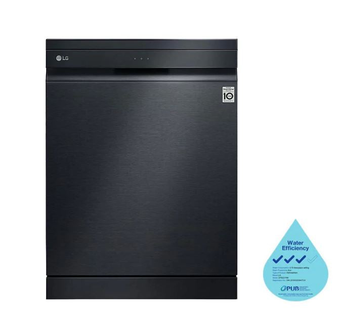 LG DFB227HM Top Control Smart Wi-fi Enabled Dishwasher with QuadWash™ and TrueSteam®