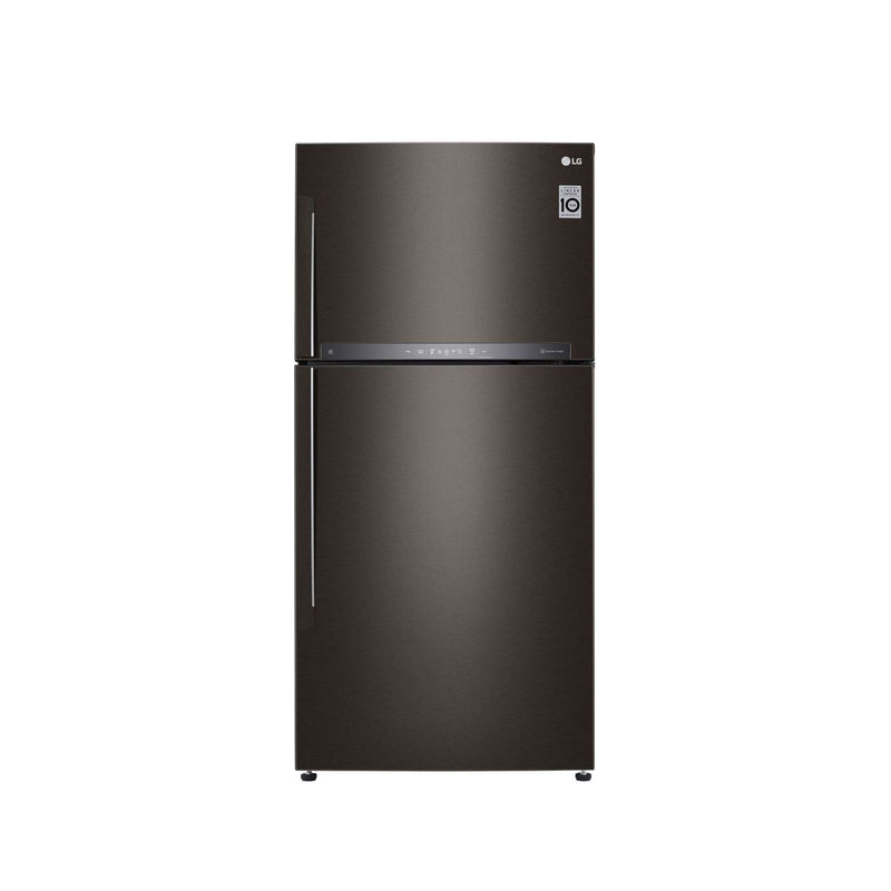 LG GT-M5967BL 2 Door Refrigerators (Gross 631L) Top Freezer - Lion City Company